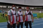 صعود تیم ریکرو مردان به مرحله حذفی مسابقات کسب سهمیه پاریس