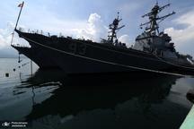 رزم ناوهای آمریکایی در دریای چین
