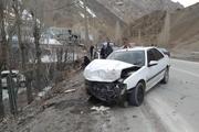 تصادف رانندگی جاده دیواندره به سقز یک کشته بر جا گذاشت