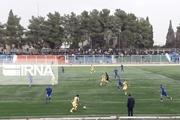 توقف تیم فوتبال فجر سپاسی شیراز مقابل استقلال اهواز در خانه