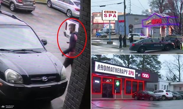 تیراندازی های مرگبار در آتلانتای آمریکا+ تصاویر