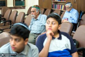 مراسم بزرگداشت امام(س) از سوی انجمن کلیمیان