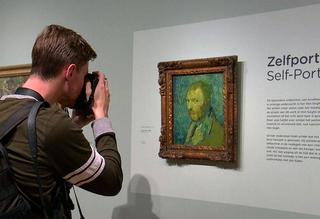حراج چند میلیون دلاری نقاشی ونگوگ+عکس