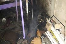 آتش سوزی در خوابگاه پسرانه دانشگاه یاسوج مهار شد