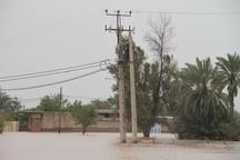 چهار میلیارد ریال به تاسبسات برق شوش خسارت وارد شد