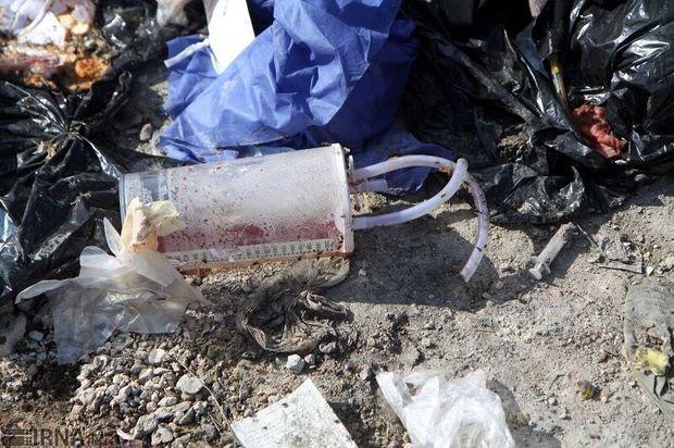 زبالههای بیمارستانی کرمانشاه جایی مناسب برای دفع ندارند