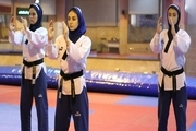 برگزاری مسابقات قهرمانی تکواندو پومسه بانوان استان همدان