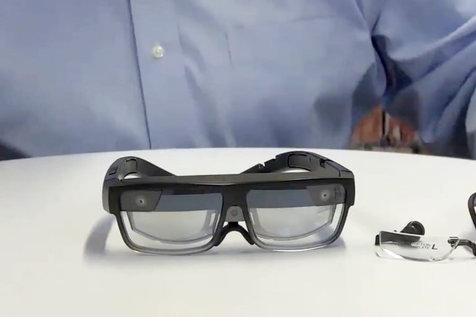 عینک واقعیت افزوده مناسب دورکاری+ تصاویر