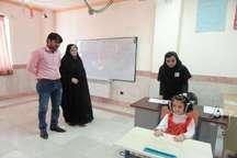 اجرای سنجش سلامت دانش آموزان بدو ورود به دبستان در  کلاله