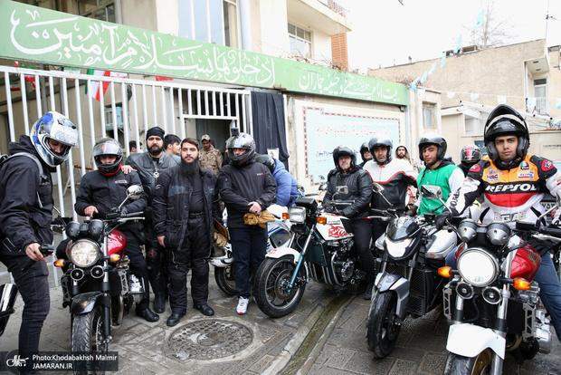 توقیف بیش از 200 موتور سیکلت ر پیاده راه های همدان