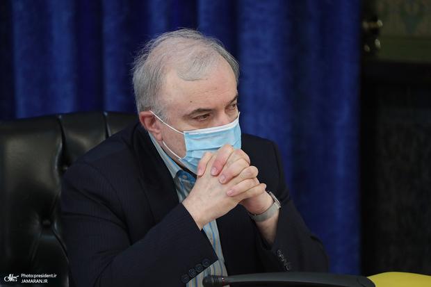 تقدیر وزیر بهداشت از حمایت های فولاد مبارکه در کنترل بیماری کرونا