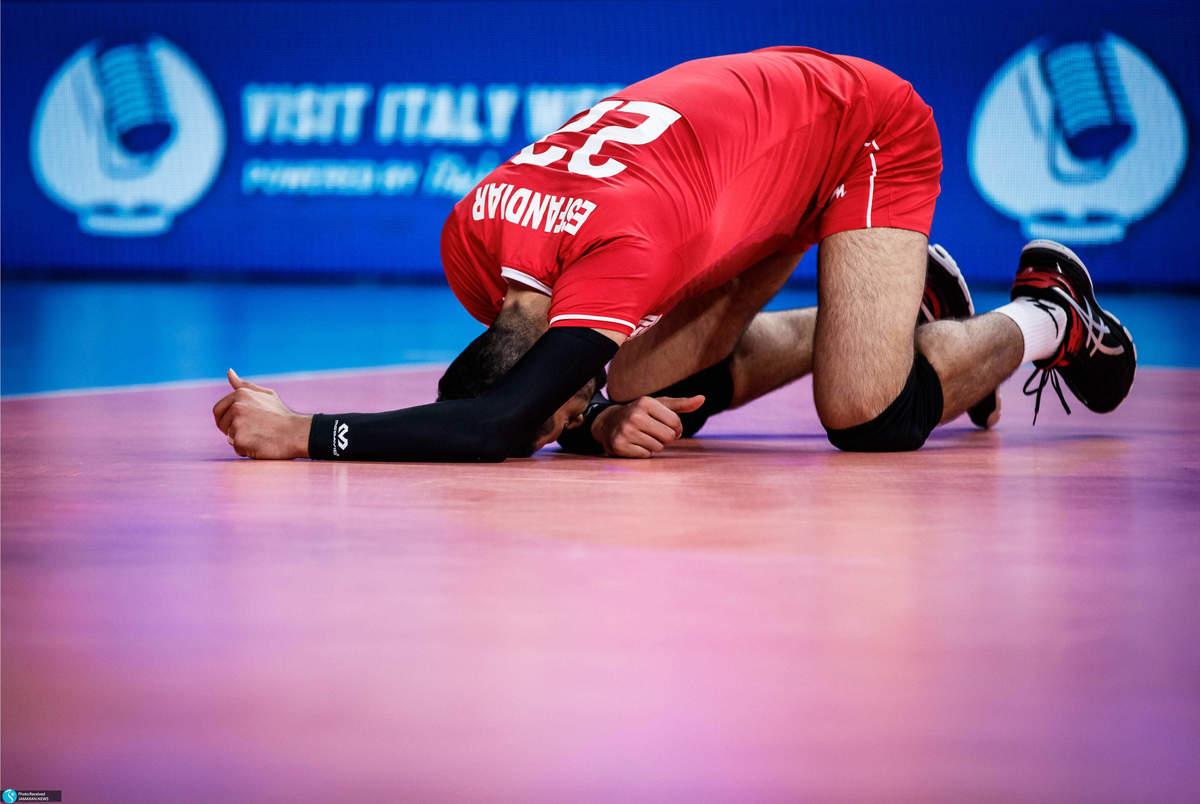 حذف یک بازیکن دیگر از تیم ملی والیبال برای المپیک