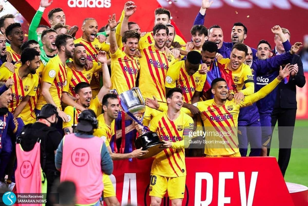 زلزله در بارسلونا با اخراج 14 بازیکن؛ آگوئرو هم تیمی مسی شد؟
