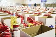 ۸۰۰۰ بسته حمایتی توسط هلال احمر مازندران توزیع شد