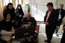 معاون وزیر بهداشت از مراکز خدمات جامع سلامت قزوین بازدید کرد