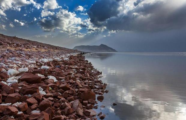 وسعت دریاچه ارومیه حدود 300 کیلومترمربع افزایش یافت
