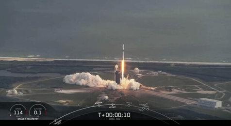 اسپیس ایکس ماهواره جاسوسی آمریکا را به فضا پرتاب کرد