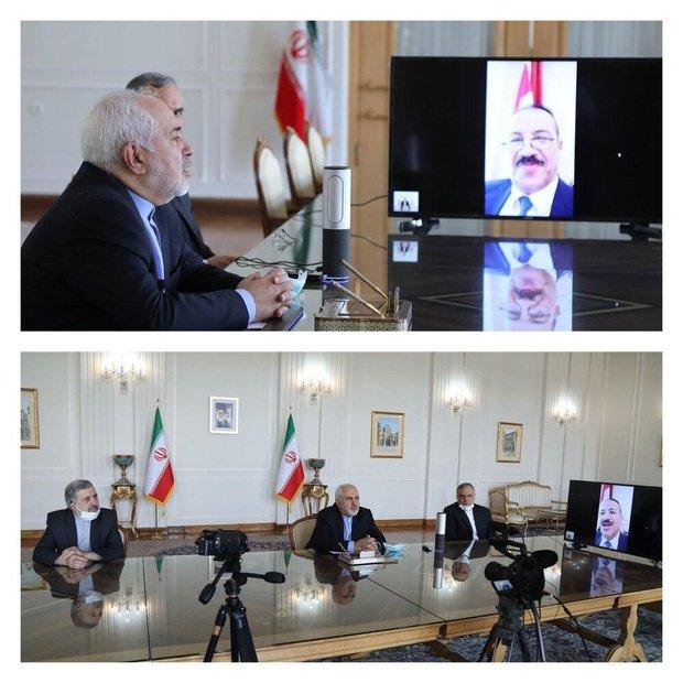 دیدار مهم ظریف با رئیس شورای عالی قضایی عراق به منظور پیگیری حقوقی ترور سردار سلیمانی