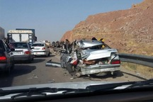 3772 فقره تصادف رانندگی پارسال در سیستان و بلوچستان رخ داد