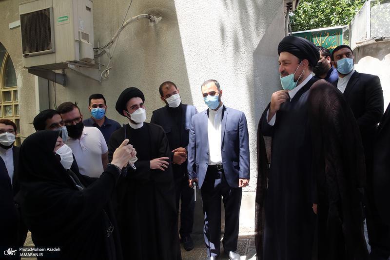 حضور سید حسن خمینی در انتخابات 1400