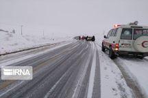 ۳۰ مسافر گرفتار در برف و کولاک جوین خراسان رضوی نجات یافتند