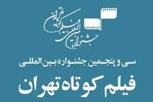 چهار اثر از قزوین به جشنواره فیلم کوتاه تهران راه یافت