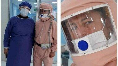 طراحی و تولید لباس ایزوله مخصوص کادر درمان