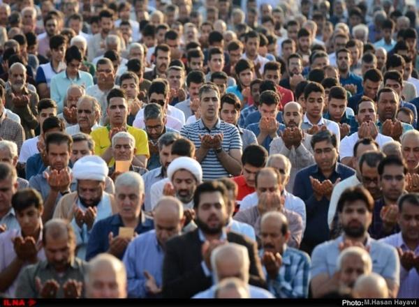 گزارش تصویری برگزاری نماز عید فطر در آبادان