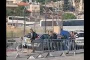 خودرویی نظامیان صهیونیست را در قدس زیر گرفت/7نظامی زخمی شدند
