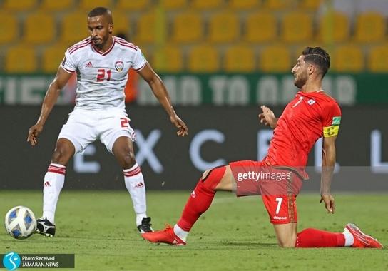 علیرضا جهانبخش ملی فوتبال ایران امارات انتخابی جام جهانی