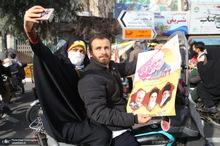 راهپیمایی 22 بهمن در قم -1