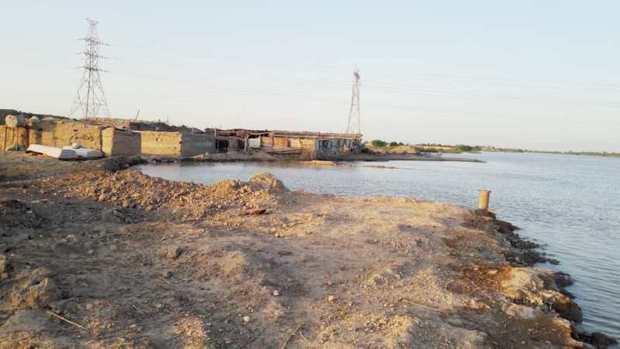 مناطق حاشیه خرمشهر از سیلاب ایمن شدند