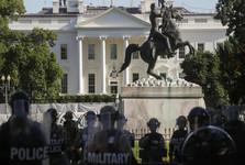 معنا و پیامدهای وحشت ترامپ از معترضان و فرارش به زیر زمین کاخ سفید