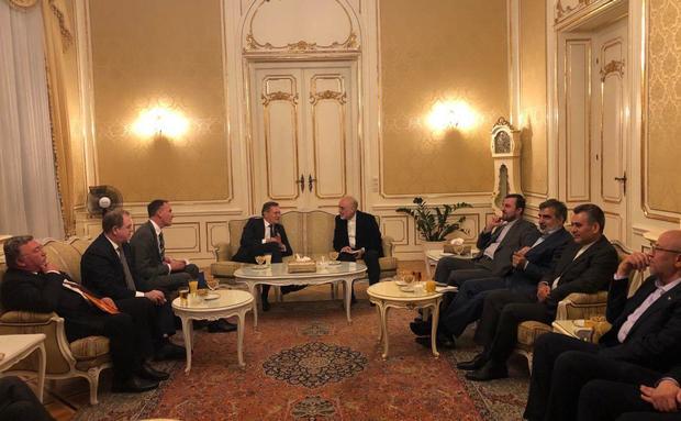 دیدار و گفتگوی روسای سازمان انرژی اتمی کشورمان و روس اتم