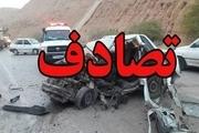 واژگونی خودروی سواری ۱ کشته و ۲ مصدوم درپی داشت