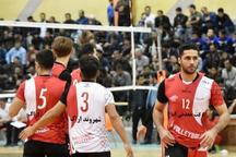 تیم والیبال فولاد سیرجان شهروند اراک را شکست داد