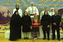 بانوان جودوکار خراسانی در رقابتهای کشوری مدال آور شدند