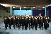 اجرای گروه سرود دانش آموزی بسیج هنرمندان شهریار به مناسبت سالروز ارتحال امام(س)