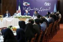 برگزاری نشست مدیران کل منابع انسانی کلانشهرهای کشور در مشهد
