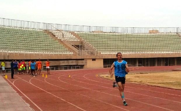 آزمون فیفا با حضور تعدادی از داوران فوتبال در یزد برگزار شد