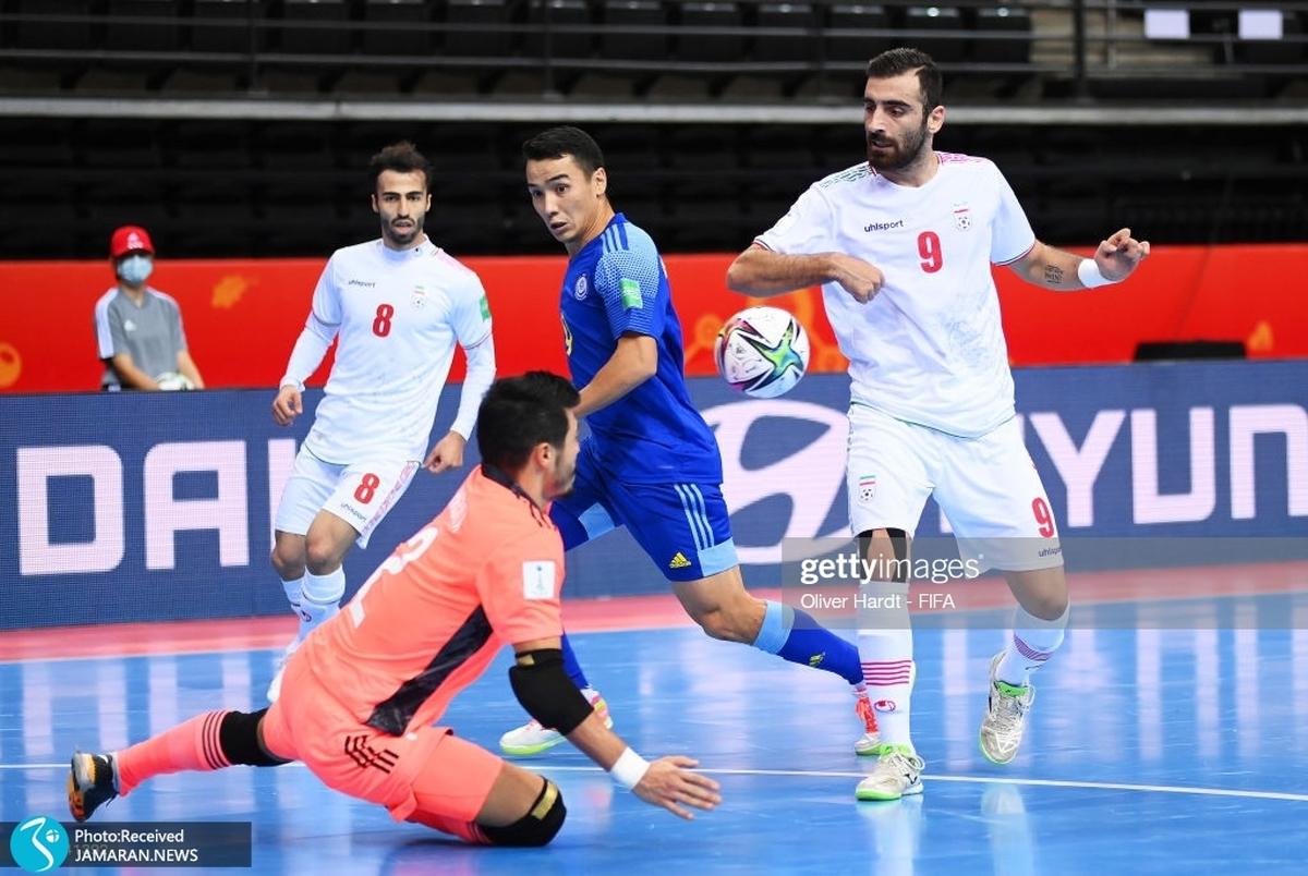 FIFA و AFC از حذف تیم ملی فوتسال نوشتند؛ قزاقستان دراماتیک صعود کرد+عکس