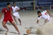 تیم فوتبال ساحلی عمان برد تا ایران صعود کند