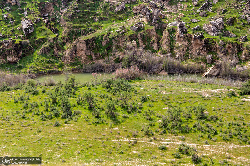 طبیعت اطراف سد آب گُلوم