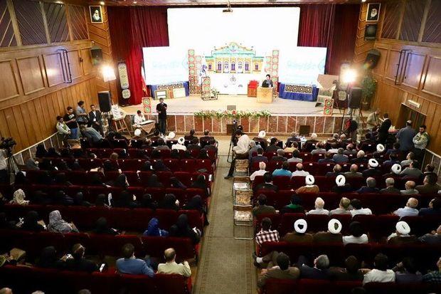 مراسم بزرگداشت سید موسی ابراهیمی در قزوین برگزار شد