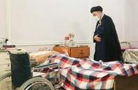حضور رییسی در آسایشگاه جانبازان امام خمینی (ره) (3)