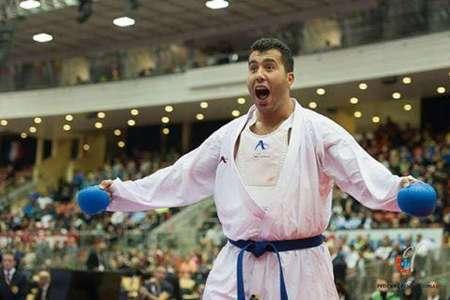 امیدواری گنجزاده به کسب مدال طلا در کاراته وان پاریس