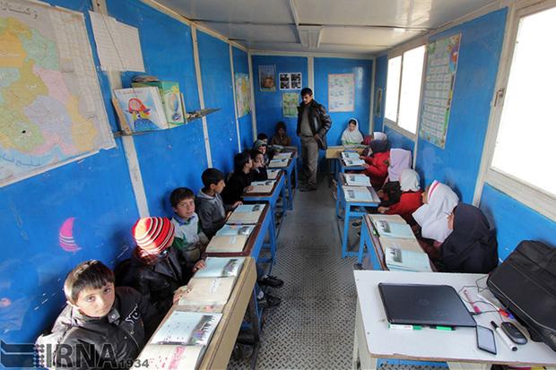 مدارس در 70 روستای چاراویماق به صورت کانکس است