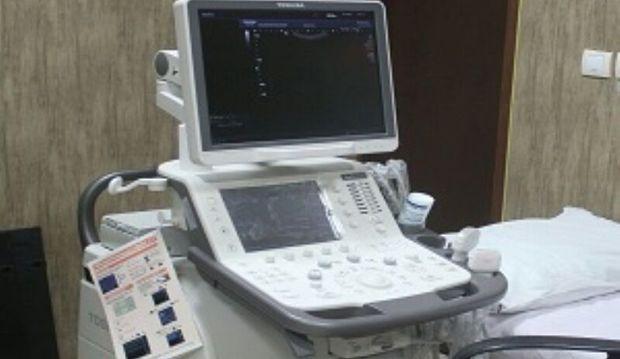 بخش سونوگرافی بیمارستان البرز کرج راه اندازی شد