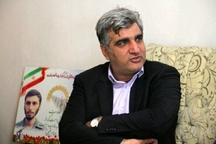 دیدار استاندار گیلان با خانواده شهید آلیانی