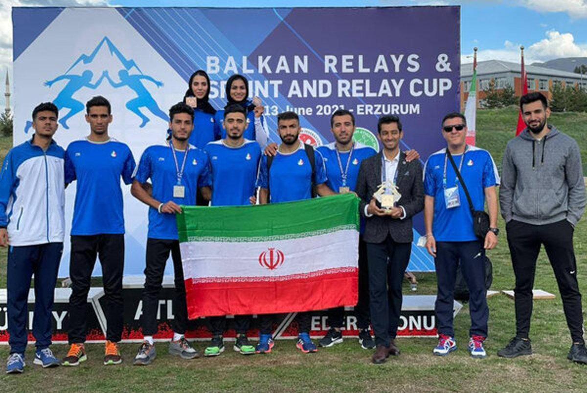 4 مدال طلا، نقره و برنز ماحصل تلاش دوومیدانی کاران ایرانی